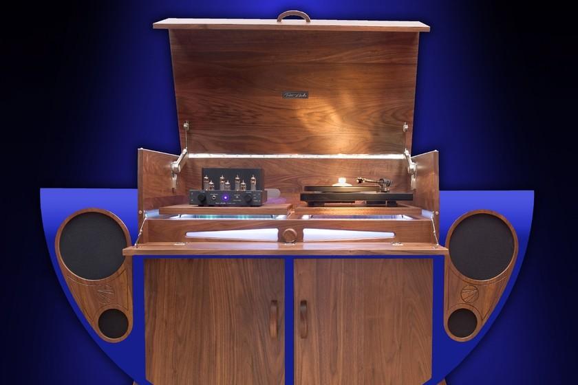 Este mueble multimedia de tutti audio te devuelve al siglo - Mueble multimedia ...