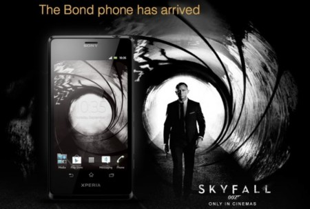 Sony Xperia T Edición James Bond