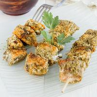 Brochetas de salmón al pesto: receta fácil y rápida