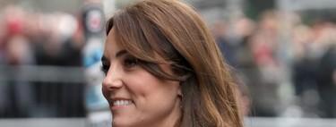 Kate Middleton repite abrigo blanco diez años después y le queda igual de bien que el primer día