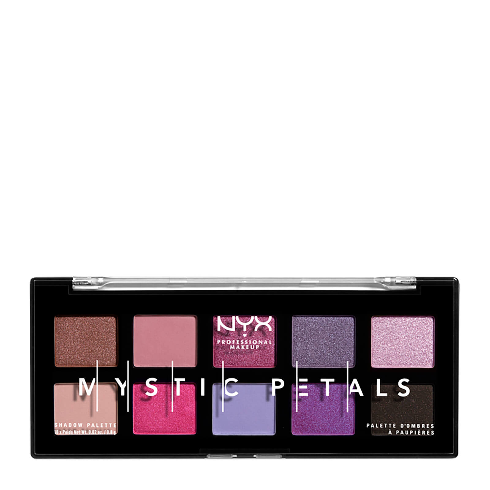 NYX Professional Makeup Mystic Petals Eye Shadow Palette Midnight Orchid