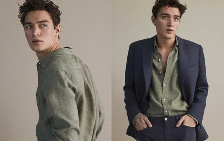 Massimo Dutti Linen Collection Hombre Spring Summer 2019 6