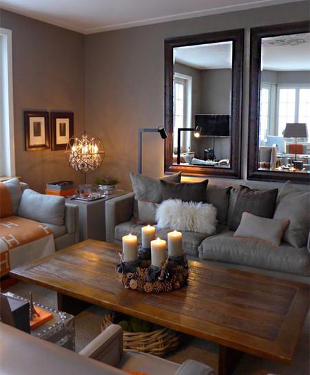 17 ideas de c mo colocar un espejo en el sal n de tu casa for Adornos para salon de casa