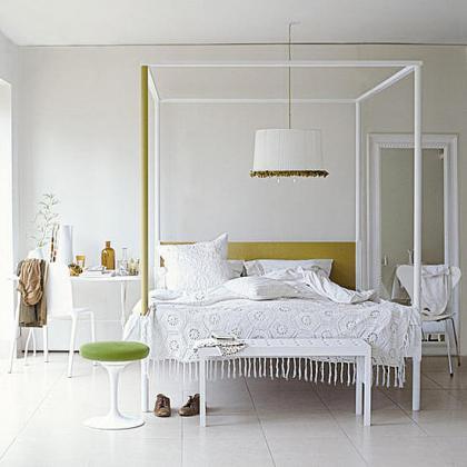 Un dormitorio en blanco: la forma perfecta de tener un dormitorio para cada estación