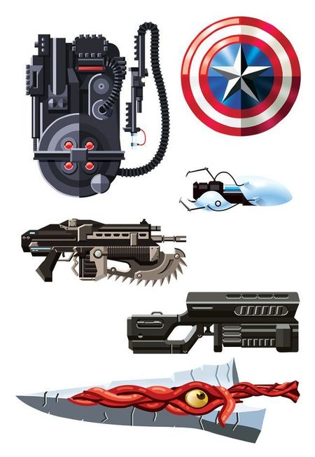 52 armas famosas