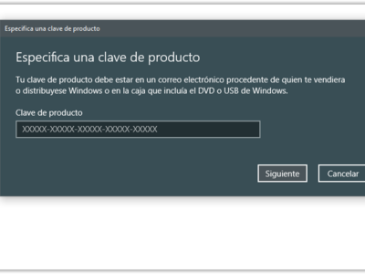 Sí, puedes activar tu nueva instalación de Windows 10 Creators Update con una licencia de Windows 7,8 u 8.1