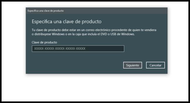 Clave De Windows