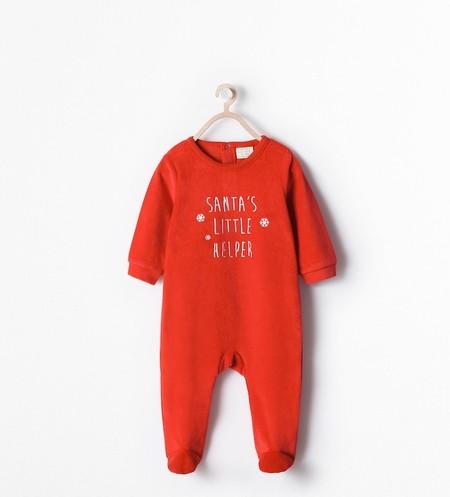 Pijama Zara Mini Navidad