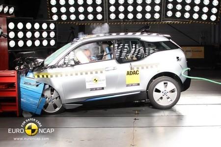 El BMW i3 consigue cuatro estrellas Euro NCAP