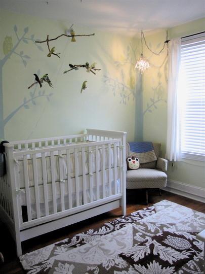 La habitación de tu bebé: serena y estimulante
