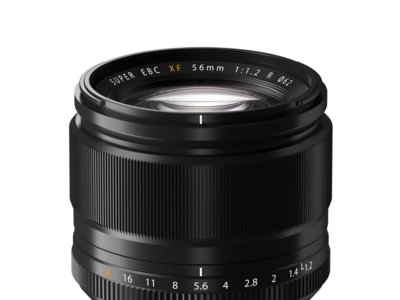 Objetivo Fujifilm XF 56 mm con un 22% de descuento