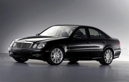 Mercedes Benz 2007 E Class Black