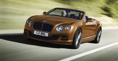 El Bentley Continental GT Speed 2014, a Ginebra