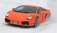 Clases de patinaje sobre Lamborghinis Gallardo