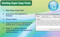 Super Copy Paste para OS X, elimina el formato de los textos del portapeles, gratuito por tiempo limitado
