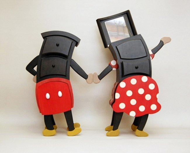 Minney y Mickey