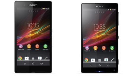 Sony Xperia Z y ZL