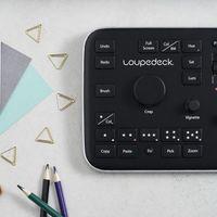Loupedeck es una consola que nos permitirá usar Lightroom como si fuera un editor de vídeo