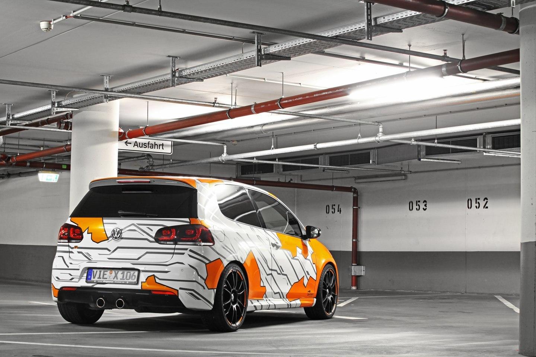 Foto de Volkswagen Golf R Cam Shaft Naranja eléctrico (8/13)