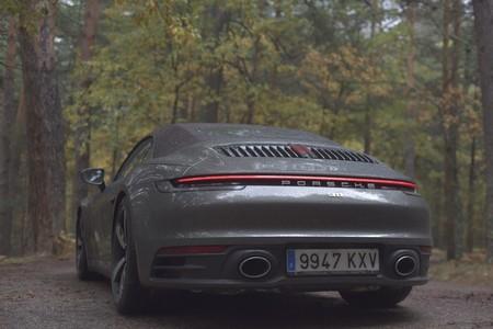 Porsche 911 Carrera 4S Cabriolet trasera