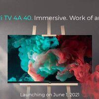 Xiaomi anuncia el lanzamiento de la Mi TV 4A 40 Horizon Edition para el próximo uno de junio