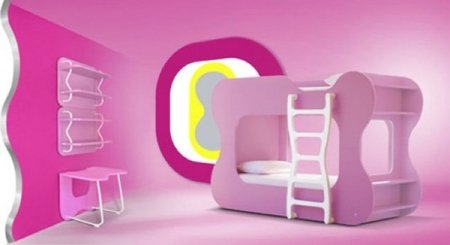 karim rashid niños rosa