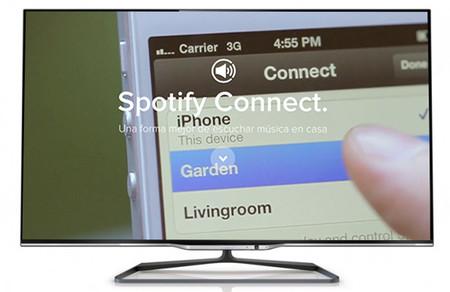 Spotify Connect llega a los Smart TV de Philips