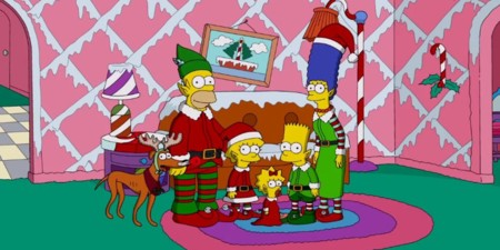 O Simpsons Couch Gag Christmas Facebook