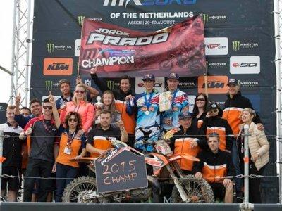 Jorge Prado llama a la puerta del mundial proclamándose Campeón de Europa de 125