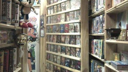 La mayor colección de videojuegos de la historia. Vídeo