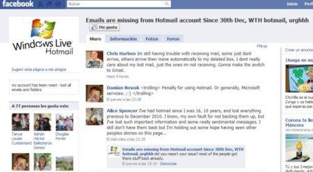 Microsoft explica porqué ocurrió el problema de los correos desaparecidos en Hotmail