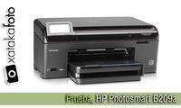 Prueba, impresora HP Photosmart B209a