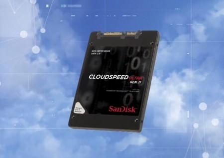SanDisk ofrecerá elasticidad en la nube con nuevos SSDs CloudSpeed Ultra II