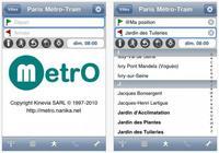 Aplicaciones viajeras para el iPhone: MetrO