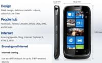 Nokia Lumia 610 puede crear un punto WiFi, mientras sus hermanos esperan