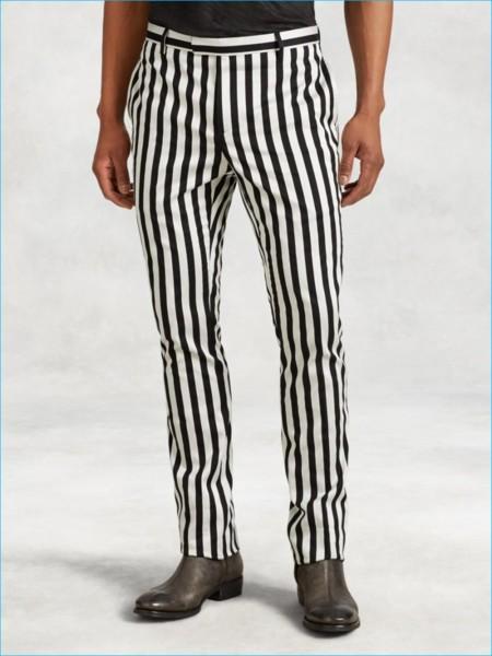 John Varvatos Floyd Stripe Wool Pants 800x1067