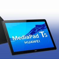 Regalar la Huawei MediaPad T5 más potente estas navidades sale más barato en Amazon. Esta tableta está rebajada a 179 euros
