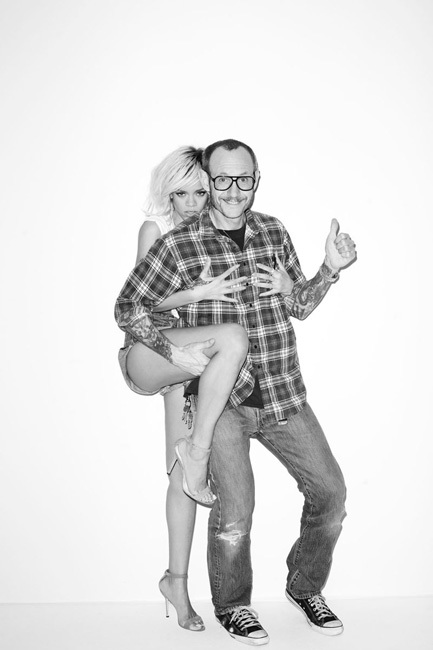 Rihanna a lo Terry Richardson
