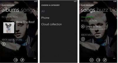 Microsoft detalla las mejoras de Xbox Music en Windows Phone 8 GDR2
