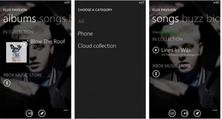 Microsoft detalla las mejoras de Xbox Music en Windows Phone 8 GDR2