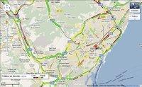 Google Maps ya informa en tiempo real del tráfico