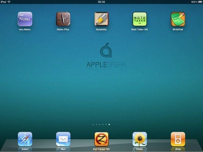 Cinco aplicaciones para tomar notas en el iPad
