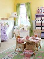 Estantería con cestas para el cuarto infantil