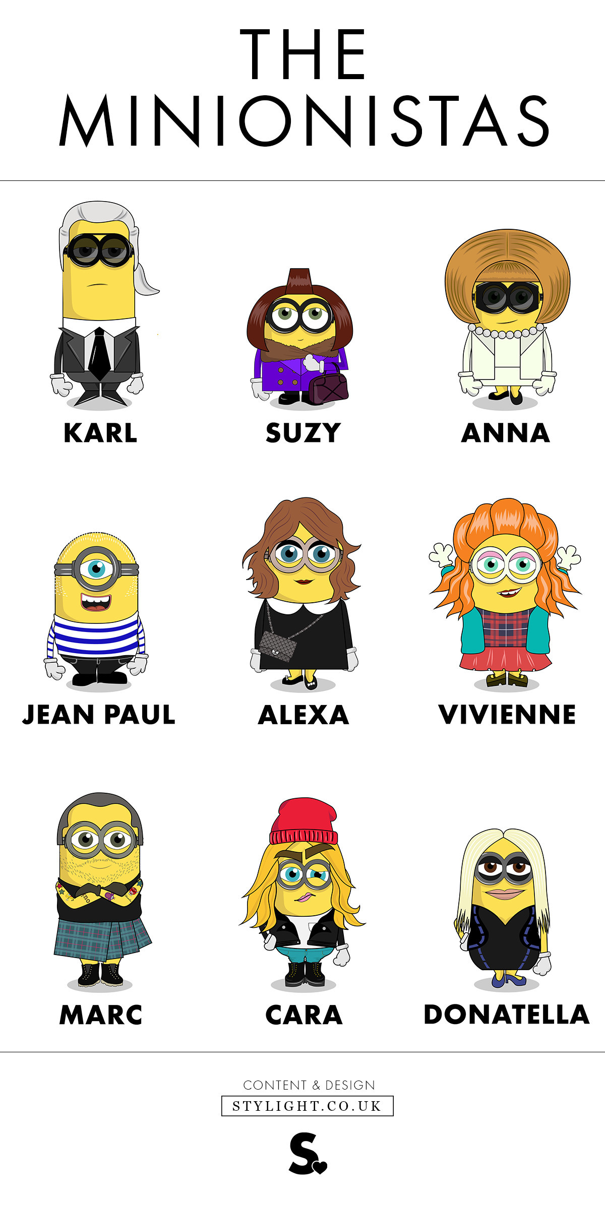 The Minionistas, los Minions más fashion