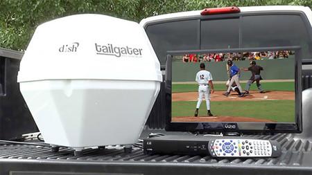 Tailgater, una antena parabólica portátil para que no te despegues de la tele ni en vacaciones