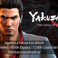 Streaming de Yakuza 6 a las 19:00h (las 12:00h en Ciudad de México) [Finalizado]