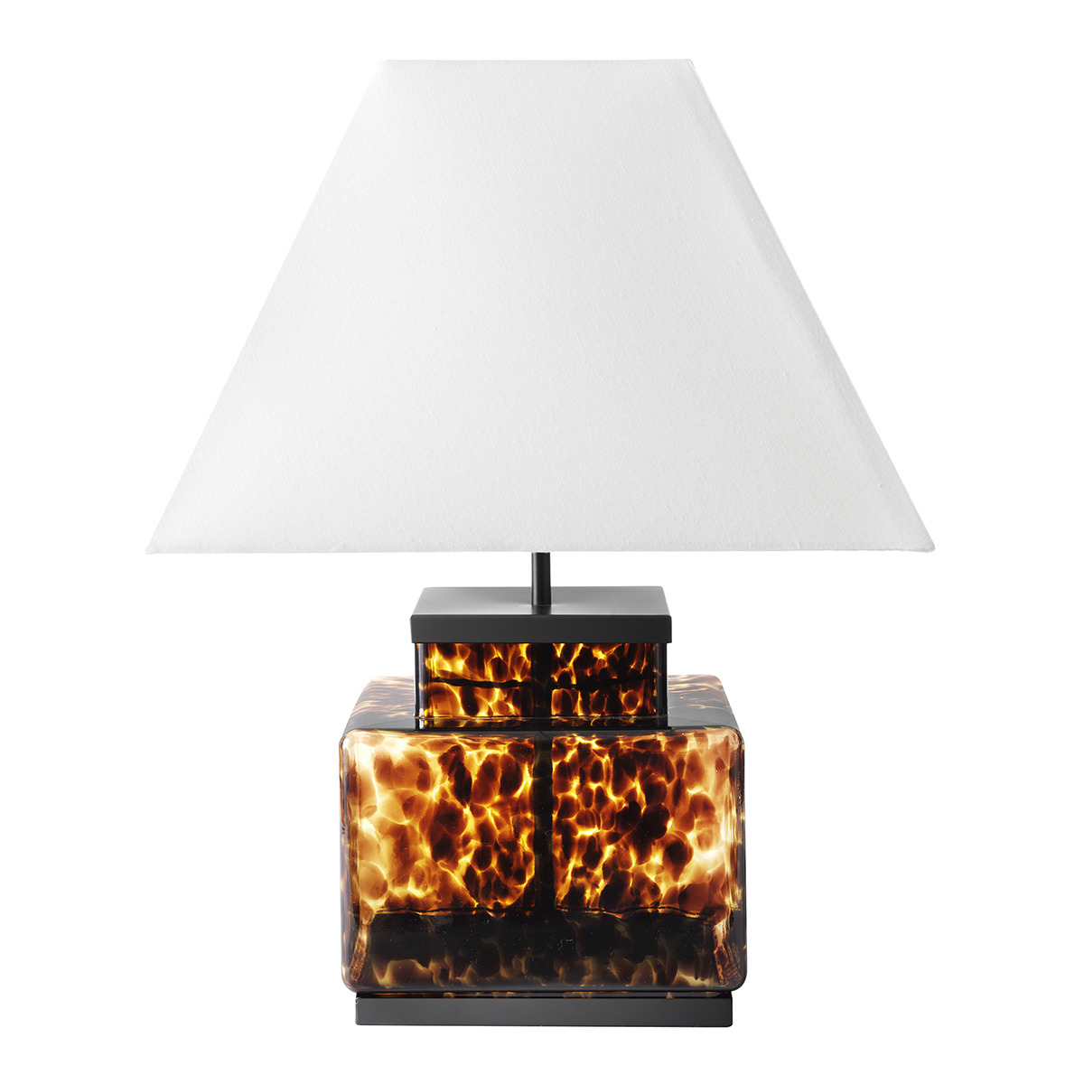 Lámpara de mesa de vidrio Carey El Corte Inglés