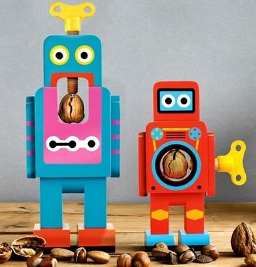 Los cascanueces más divertidos para tu mesa, vienen en forma de robot
