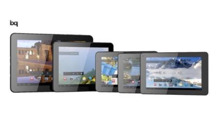 bq renueva su gama de tablets Android: Curie 2, Maxwell 2 y Edison 2