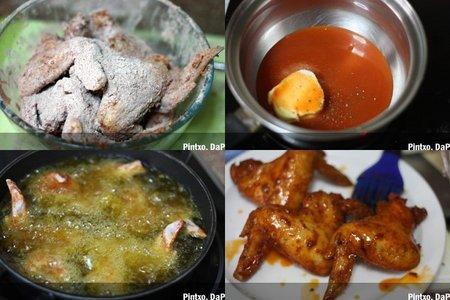 Receta de alitas de pollo al estilo búfalo. Pasos
